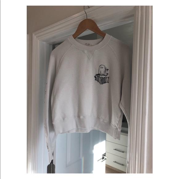 Brandy Melville Tops - crew neck sweatshirt